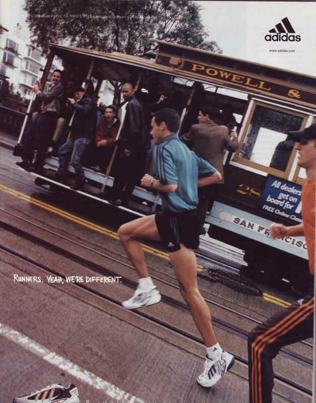 Adidas ad Campaign - Runners Yeah were different